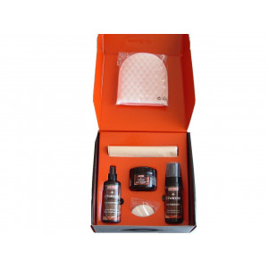 KT 017 KIT CHARME LEATHER CARE MA-FRA PULIZIA INTERNI IN PELLE.
